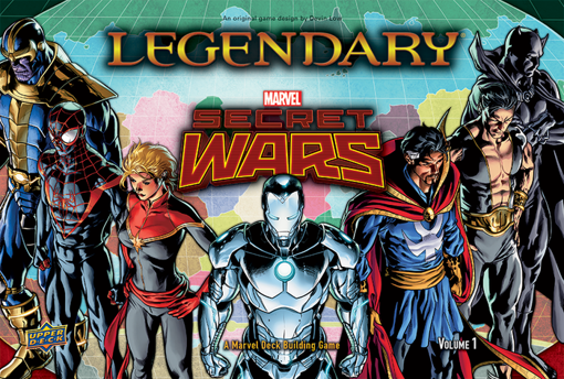 Picture of Lgdry Dbg: Secret Wars 1