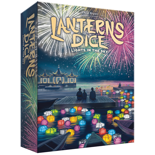 Picture of Lanterns Dice: Lights in the Sky