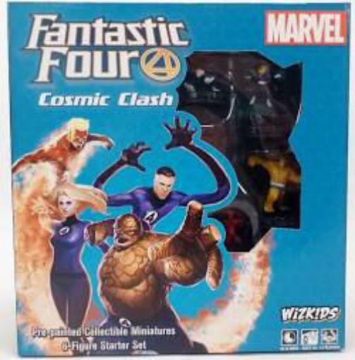 Picture of Marvel HeroClix: Fantastic Four Cosmic Clash Starter Set (6-Figure Starter Set)