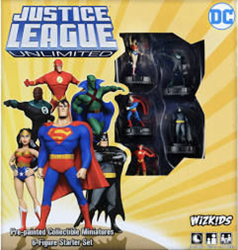 Picture of DC HeroClix: Justice League Unlimited Starter Set