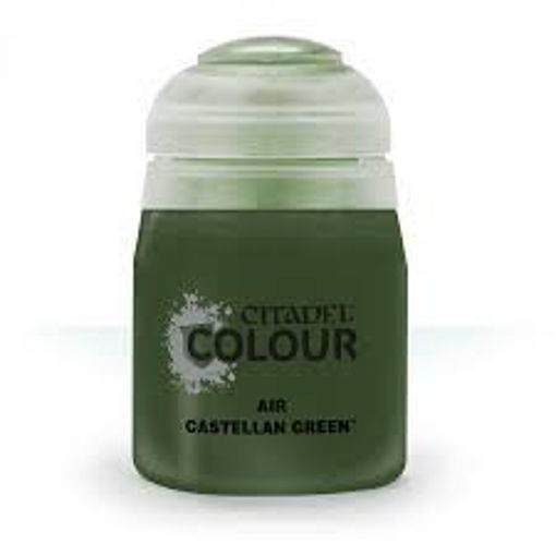 Picture of Citadel Paint: Air: Castellan Green 24ml
