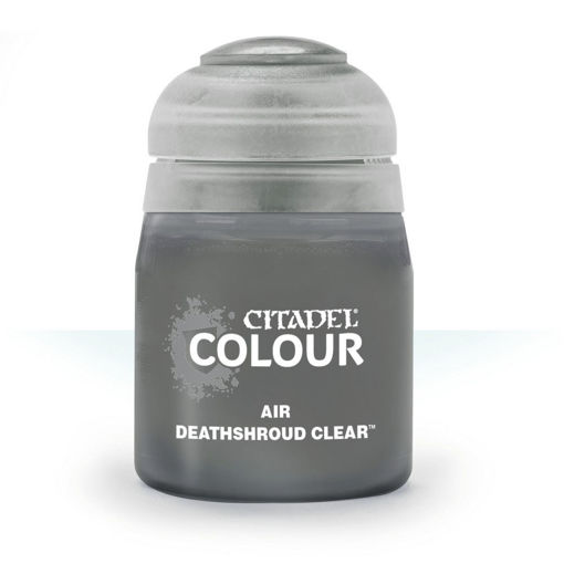 Picture of Citadel Paint: Air: Deathshroud Clear 24ml