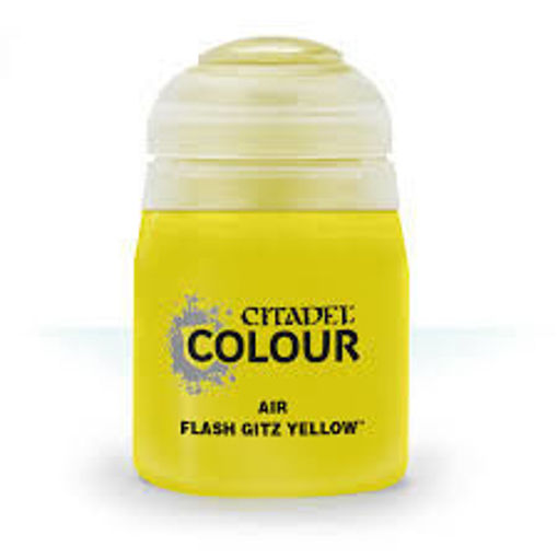 Picture of Citadel Paint: Air: Flash Gitz Yellow 24ml