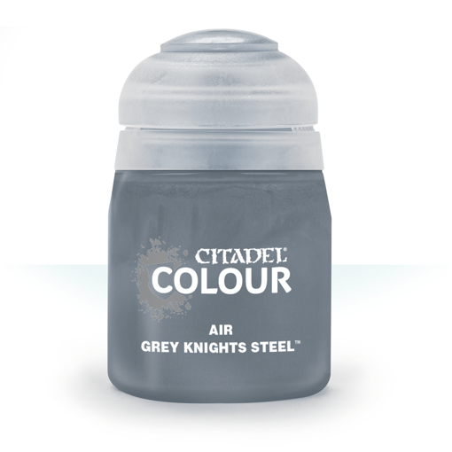 Picture of Citadel Paint: Air: Grey Knights Steel 24ml