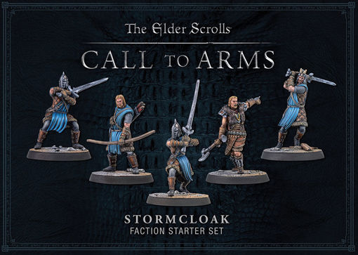Picture of Elder Scrolls: Call To Arms: Stormcloak Plastic Faction Starter