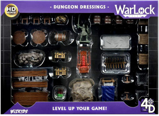 Picture of WarLock Tiles: Dungeon Dressings (July 15 Release)