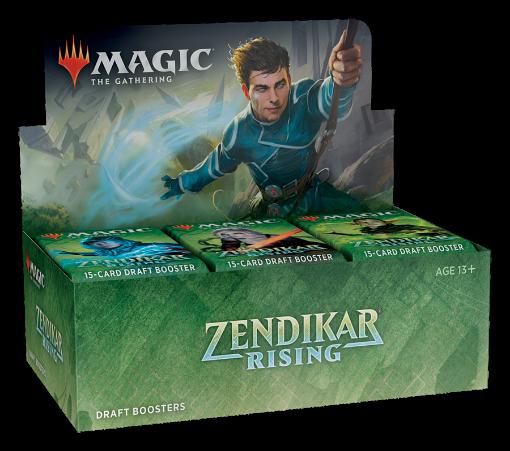 Picture of MTG Zendikar Rising Booster Box