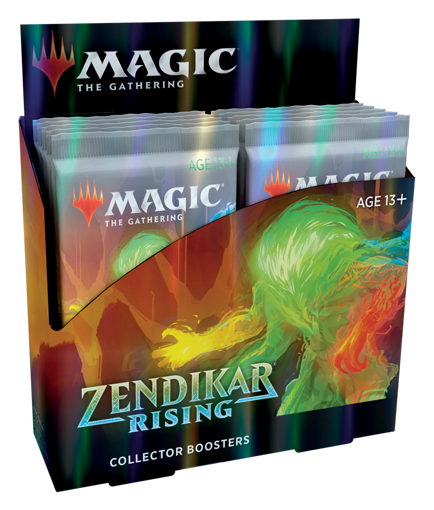 Picture of MTG Zendikar Rising Collector Booster Box
