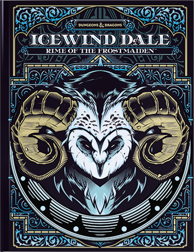 Picture of D&D 5E: Icewind Dale: Rime of the Frost Maiden Hobby Cover