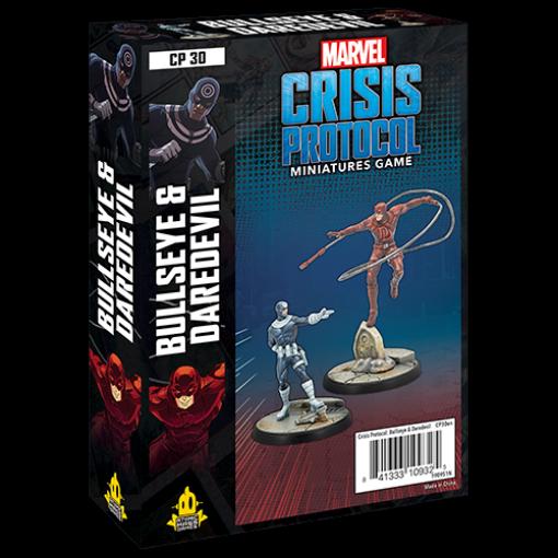 Picture of Marvel Crisis Protocol: Bullseye & Daredevil