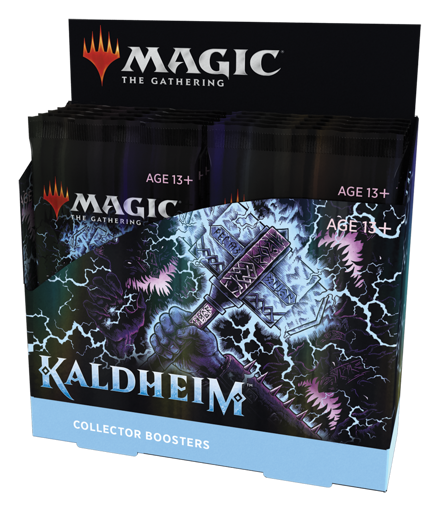 Picture of MTG Kaldheim Collector Booster (12) Display Box (Pre-Order February 5th release)